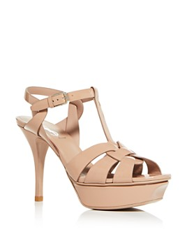 Saint Laurent - Women's T-Strap High-Heel Sandals