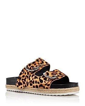 AQUA - Women's Kai Slip On Buckled Espadrille Sandals - 100% Exclusive