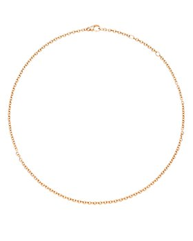 Pomellato - 18K Rose Gold Round Link Chain Necklace, 16.5""