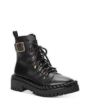 Valentino Garavani Women\\\'s Zippered Combat Boots