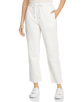 rag & bone - Cotton Denim Jogger Pants in Off White