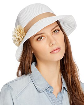 August Hat Company - Flowered Cloche