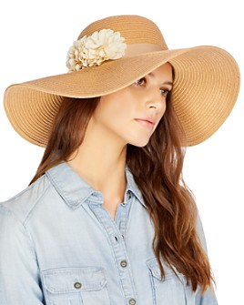 August Hat Company - Floppy With Flower Hat