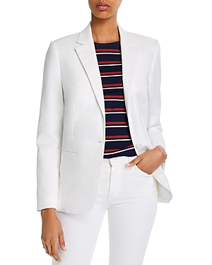 7 For All Mankind One-Button Blazer