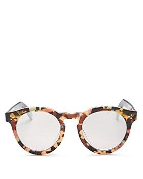 Illesteva - Unisex Leonard 11 Oversized Round Sunglasses, 50mm
