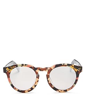 Unisex Leonard 11 Oversized Round Sunglasses