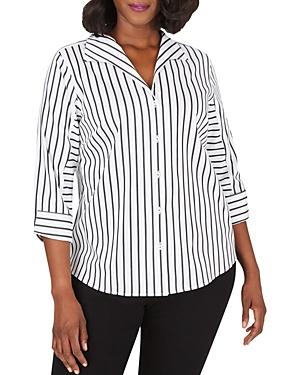 Cisley Non-Iron Stretch Striped Shirt