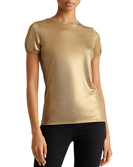 Ralph Lauren - Metallic Top