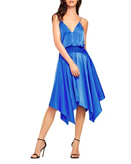Aidan by Aidan Mattox - Asymmetric-Hem Cocktail Dress