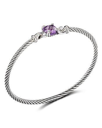 David Yurman - Chatelaine® Bracelet with Amethyst and Diamonds