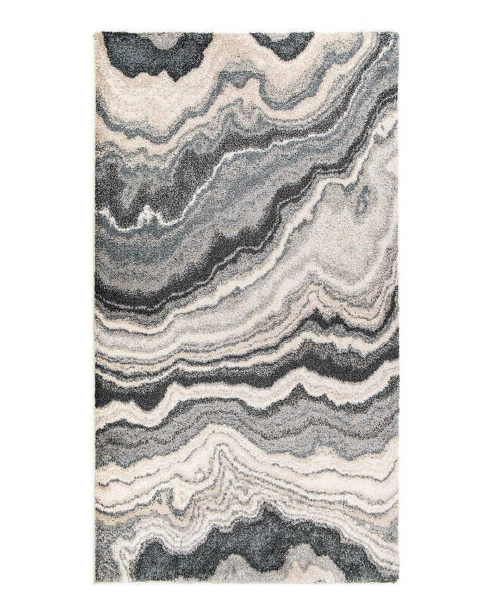 Palmetto Living Mystical Cascade Area Rug, 5'3 X 7'6 In Taupe Inkwell