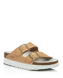 Birkenstock - Women's Papillio by Birkenstock Arizona Slip On Platform Sandals - 100% Exclusive