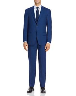 Hart Schaffner Marx - New York Tonal Plaid Classic Fit Suit