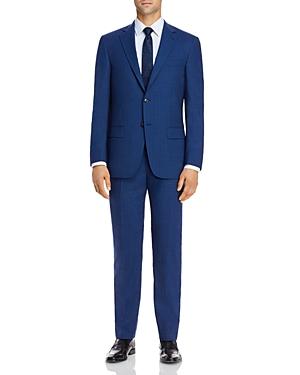 New York Tonal Plaid Classic Fit Suit