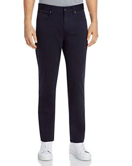 Z Zegna - Stretch Denim Five-Pocket Regular Fit Jeans in Navy