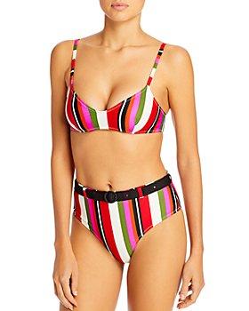 Solid & Striped - The Cora Striped Bikini Top & The Cora Striped Bikini Bottom