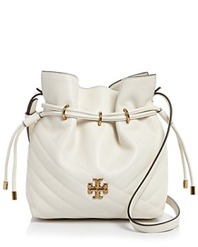 Tory Burch - Kira Chevron Mini Leather Bucket Bag