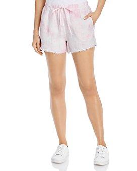 Bella Dahl - Linen Frayed-Hem Shorts