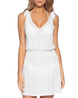 BECCA® by Rebecca Virtue - Breezy Basics Tie-Shoulder Cover-Up Dress