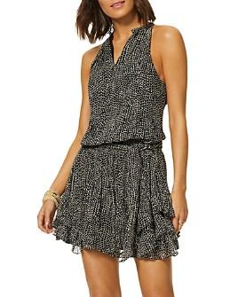 Ramy Brook - Printed Bitsy Mini Dress