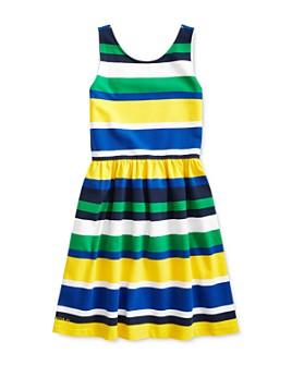 Ralph Lauren - Girls' Striped Stretch Jersey Dress - Big Kid