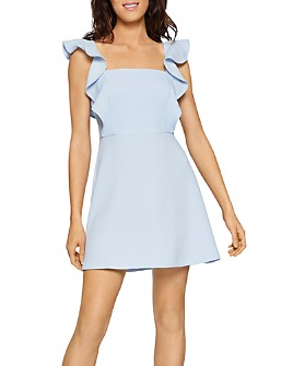 BCBGENERATION - Ruffled Apron Mini Dress