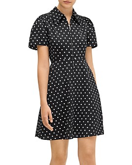 kate spade new york - Cabana Dot Smocked Dress