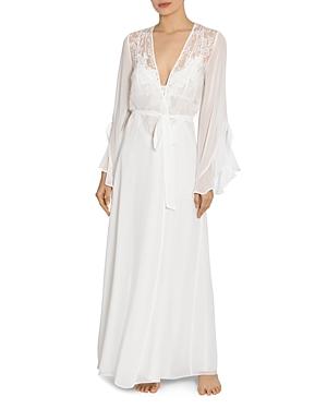Jonquil Lace Chiffon Long Robe