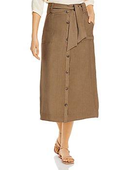 Brochu Walker - Carpi Tie-Waist Midi Skirt