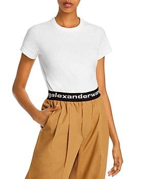alexanderwang.t - Foundation Jersey Shrunken T-Shirt