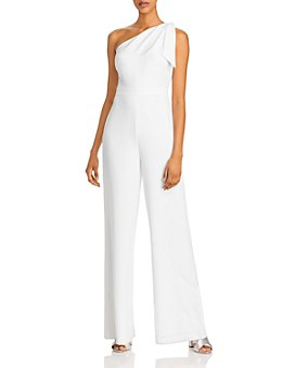 MILLY - Cady Caroline One-Shoulder Jumpsuit