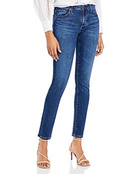 AG - Prima Cigarette-Leg Jeans in Momentary