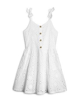 BCBG GIRLS - Girls' Eyelet Pocket Dress - Little Kid
