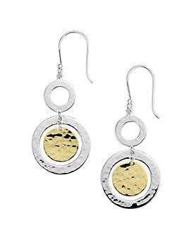 IPPOLITA - 18K Yellow Gold & Sterling Silver Classico Chimera Orbital Drop Earrings