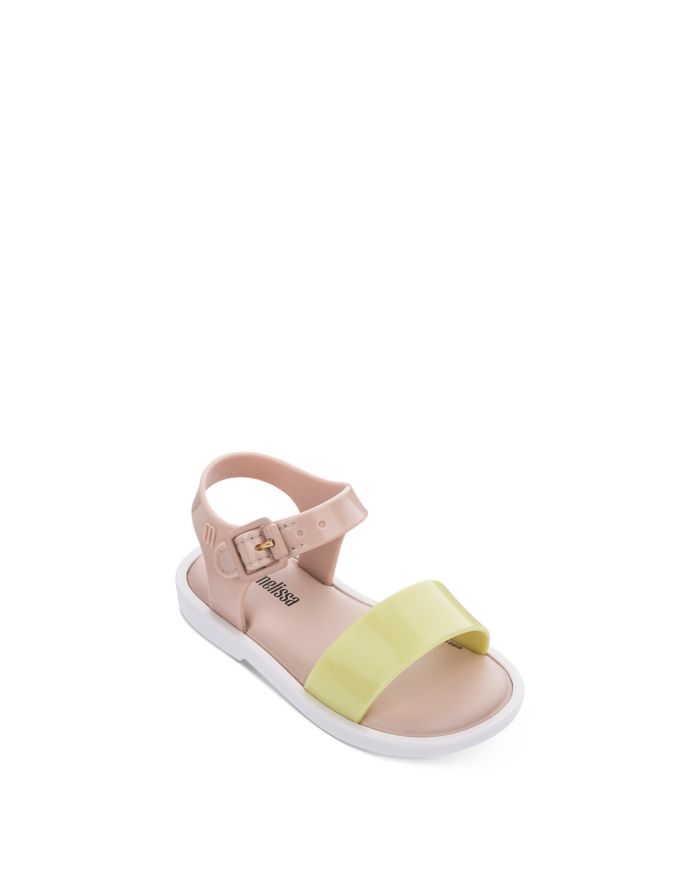 Mini Melissa Girls' Color-Blocked Sandals - Walker, Toddler  | Bloomingdale's