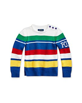 Ralph Lauren - Girls' Striped Rollneck Sweater - Little Kid