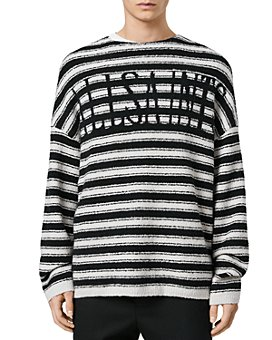 ALLSAINTS - Rivven Logo Striped Sweater