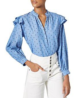 Joie - Idonia Ruffled Cotton Button-Up Shirt