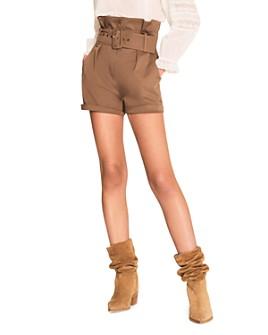 ba&sh - Kook Belted Shorts