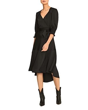 Ba & Sh Game Midi Wrap Dress-Women