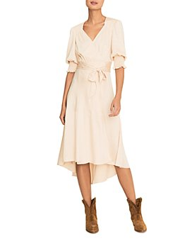 ba&sh - Game Midi Wrap Dress