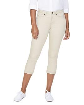 NYDJ - Petites Chloe Capri Jeans in Optic White