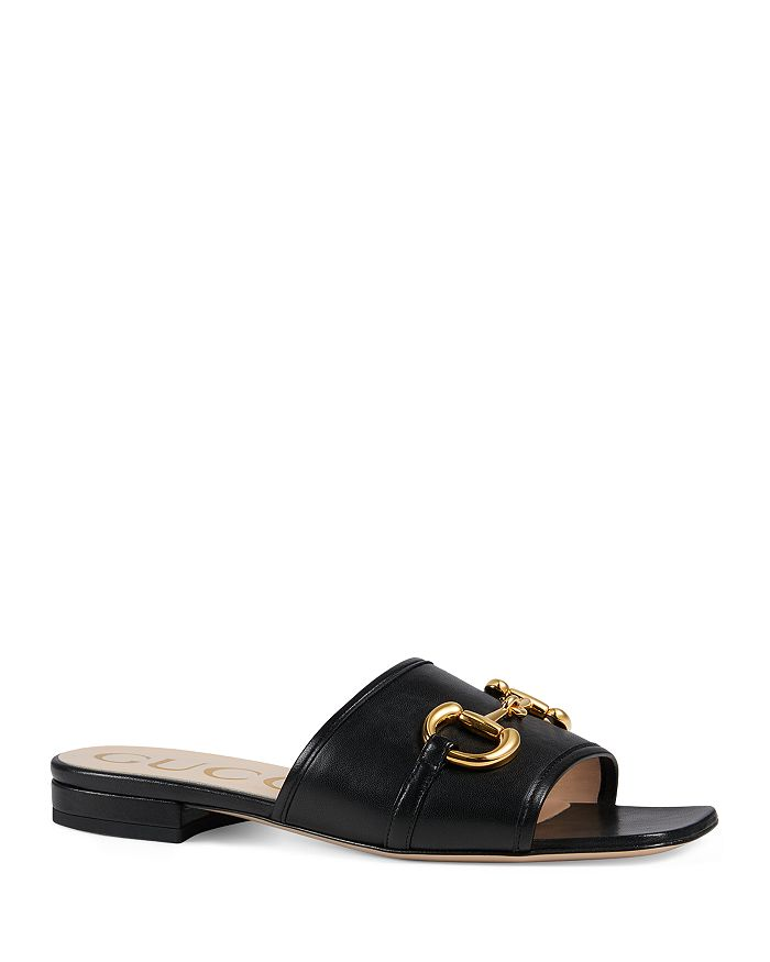 Gucci - Women's Horsebit Slide Sandals