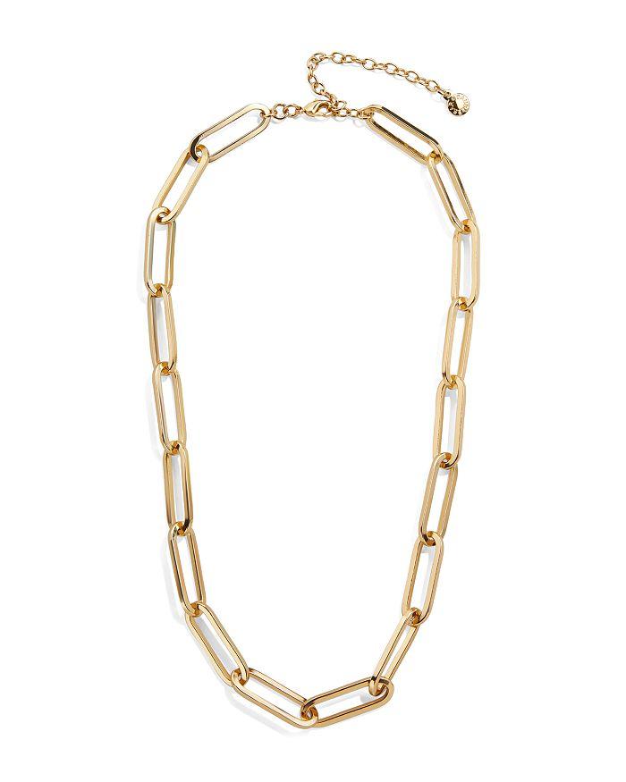 "BAUBLEBAR - Hera Large-Link Collar Necklace, 17""-20"""