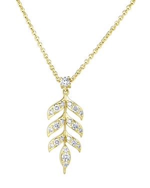Roberto Coin 18K Yellow Gold Disney Frozen Diamond Pendant Necklace, 24