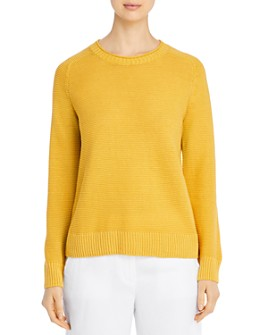 Eileen Fisher Petites - Organic Linen & Cotton Crewneck Sweater