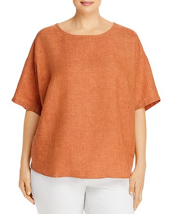 Eileen Fisher Plus - Organic Linen Top