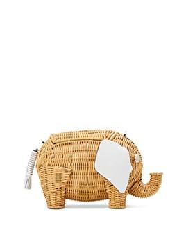 kate spade new york - Tiny Wicker Elephant Shoulder Bag
