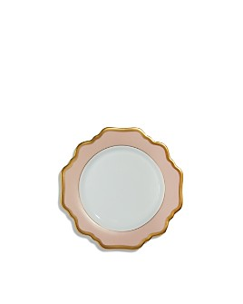 Anna Weatherley - Anna's Palette Dusty Rose Bread & Butter Plate