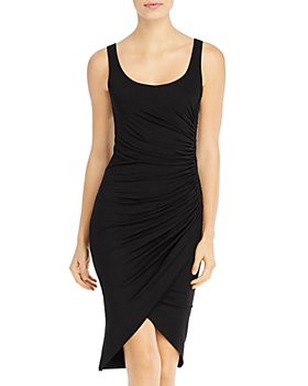 Elan - Ruched Knit Tank Dress